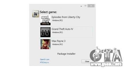 OpenIV 1.6 para GTA 4
