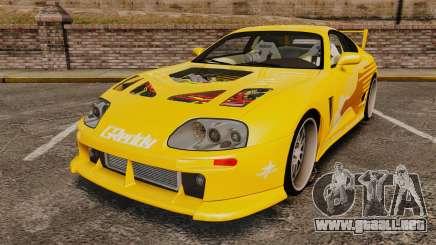 Toyota Supra 1994 (Mark IV) Slap Jack para GTA 4