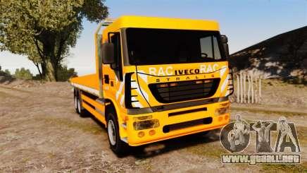 Iveco Stralis RAC para GTA 4