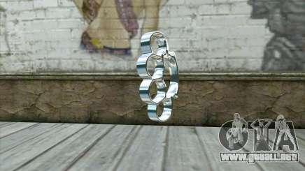 Nudillos de bronce para GTA San Andreas