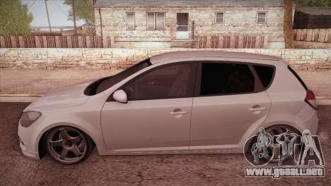 Kia Ceed 2011 SA Plates para GTA San Andreas left