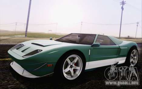 Insulso Bullet GT из GTA 5 para GTA San Andreas left