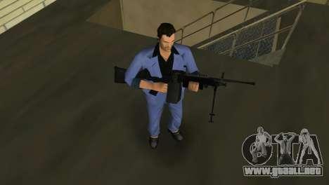 M249 из campo de Batalla 2 para GTA Vice City quinta pantalla