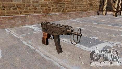 SUBFUSIL Skorpion vz. 61 para GTA 4