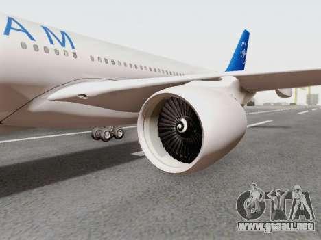 A330-202 China Eastern para la visión correcta GTA San Andreas
