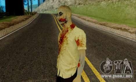 Zombies de GTA V para GTA San Andreas segunda pantalla