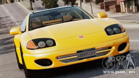 Dodge Stealth Turbo RT 1996 para GTA 4 left
