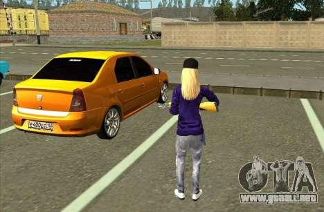 La Piel De Avril Lavigne para GTA San Andreas tercera pantalla