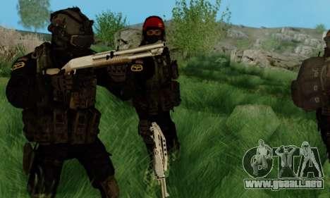 Kopassus Skin 3 para GTA San Andreas segunda pantalla