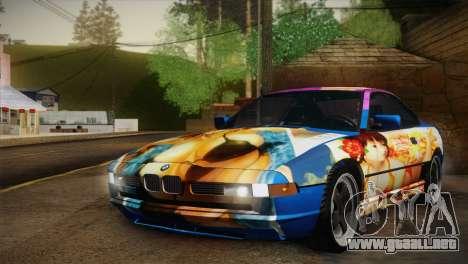 BMW M8 Custom para visión interna GTA San Andreas