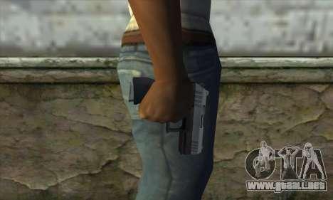 GTA V Combat Pistol para GTA San Andreas tercera pantalla