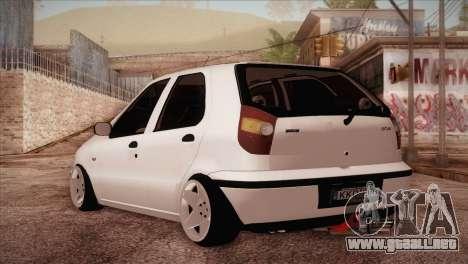 Fiat Palio BKModifiye para GTA San Andreas vista posterior izquierda