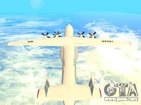 An-22 Antei para la visión correcta GTA San Andreas