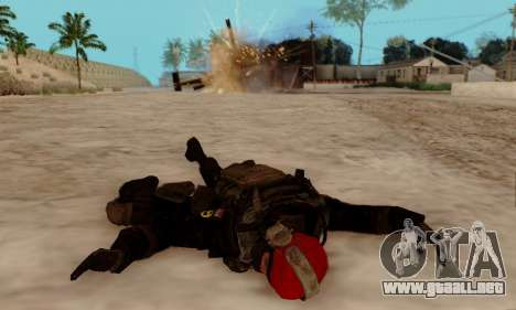 Kopassus Skin 1 para GTA San Andreas