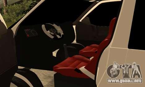 Volkswagen T4 Transporter para visión interna GTA San Andreas