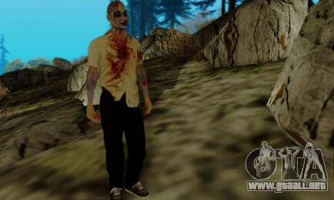 Zombies de GTA V para GTA San Andreas tercera pantalla