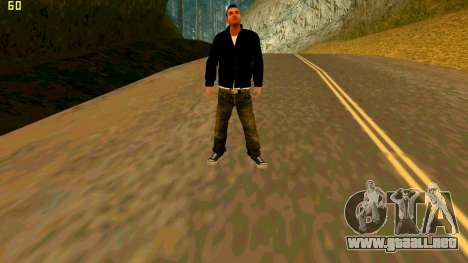 La nueva textura Claude para GTA San Andreas