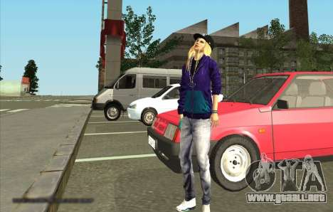La Piel De Avril Lavigne para GTA San Andreas segunda pantalla