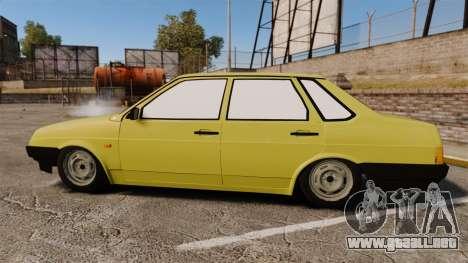 VAZ-Lada 21099 Satélite para GTA 4 left