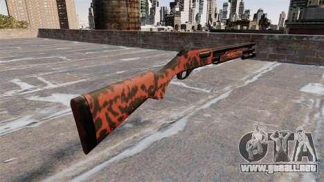 Riot escopeta Remington 870 Wingmaster para GTA 4 segundos de pantalla