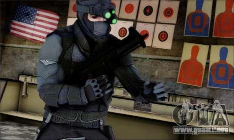 Alfa Team Weapon Pack para GTA San Andreas tercera pantalla