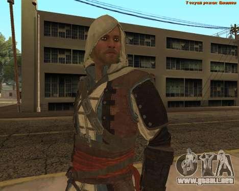 Asesino Edward para GTA San Andreas quinta pantalla