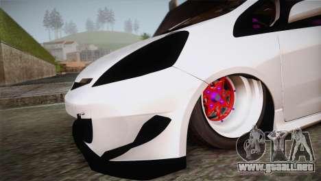 Honda Jazz RS Street Edition para la visión correcta GTA San Andreas