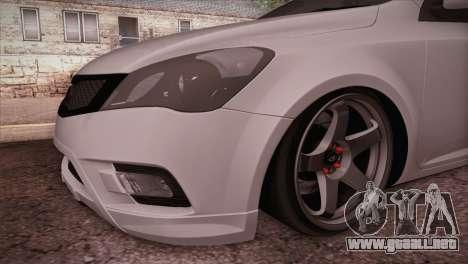 Kia Ceed 2011 SA Plates para la visión correcta GTA San Andreas