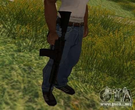 M4 CQB para GTA San Andreas quinta pantalla