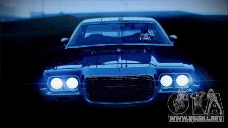 Ford Gran Torino De 1972 para GTA San Andreas left