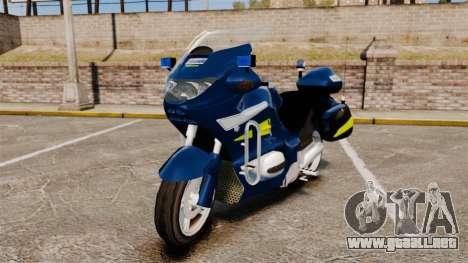 BMW R1150RT Gendarmerie [ELS] para GTA 4