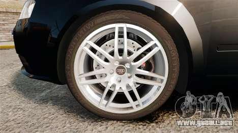 Audi S4 Avant TEK [ELS] para GTA 4 vista hacia atrás