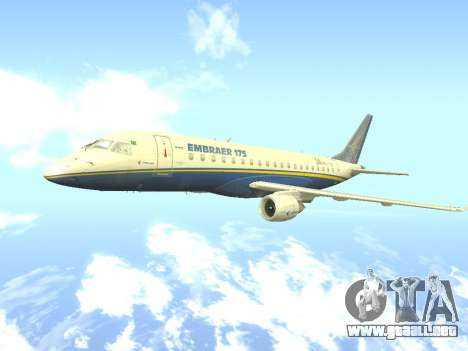 Embraer 175 HOUSE para GTA San Andreas