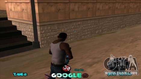 C-HUD Google para GTA San Andreas segunda pantalla