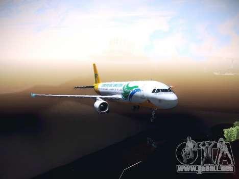 Airbus A320 Cebu Pacific Air para GTA San Andreas