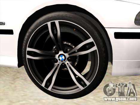 BMW 530d E39 para la vista superior GTA San Andreas