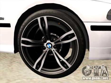 BMW 530d E39 para la vista superior GTA San Andreas
