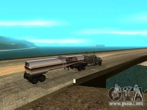 Anti-desacoplamiento del remolque para GTA San Andreas tercera pantalla