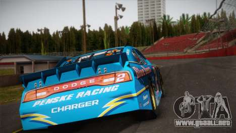 Dodge Charger NASCAR Sprint Cup 2012 para GTA San Andreas left