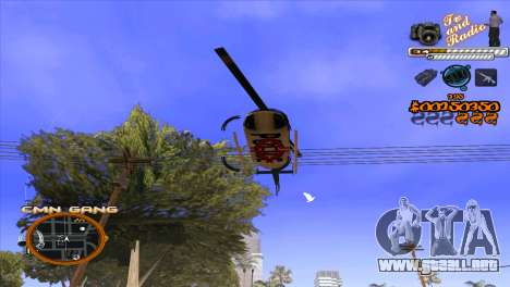 C-HUD TV-Centro para GTA San Andreas quinta pantalla