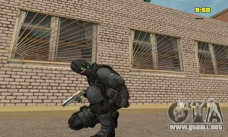 Arquero de juego Splinter Cell conviction para GTA San Andreas tercera pantalla