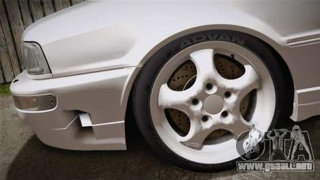 Audi RS2 Avant para GTA San Andreas vista posterior izquierda