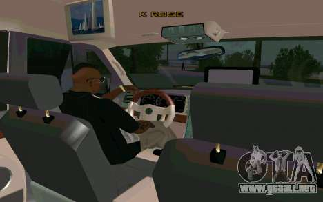 Lincoln Navigator DUB Edition para GTA San Andreas vista posterior izquierda