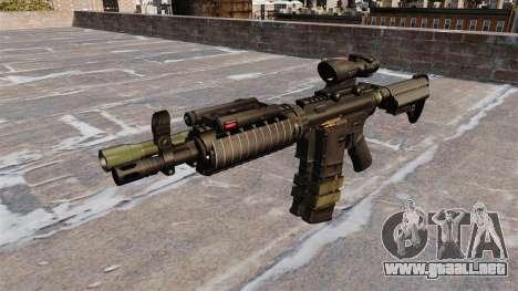 Automático de la carabina M4 para GTA 4 tercera pantalla