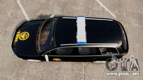 Audi S4 Avant TEK [ELS] para GTA 4 visión correcta