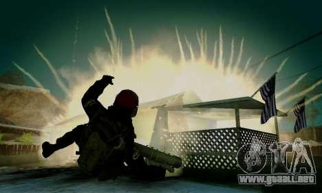 Kopassus Skin 1 para GTA San Andreas novena de pantalla
