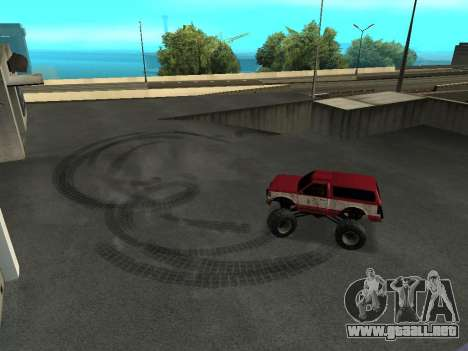 Street Monster para vista lateral GTA San Andreas