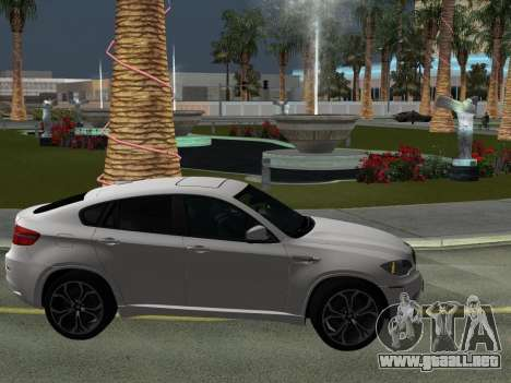 BMW X6M 2010 para la vista superior GTA San Andreas
