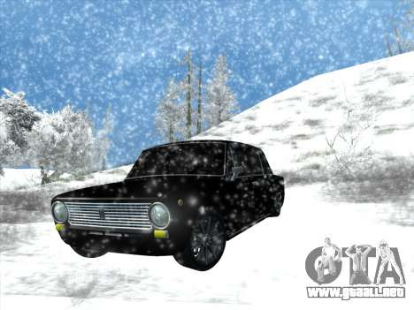 ВАЗ 2101 Optimización de Estilo para GTA San Andreas vista hacia atrás