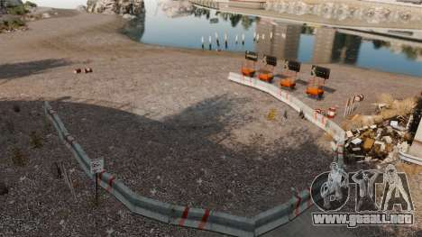 Rally de pista para GTA 4 adelante de pantalla